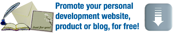 banner - promote your personal development site free